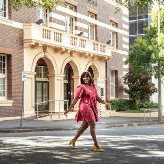 The Little Party Dress - Isadora Plum Dress   Fashion & Lifestyle Blogger
