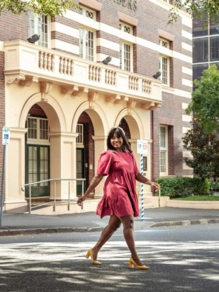 The Little Party Dress - Isadora Plum Dress | Fashion & Lifestyle Blogger
